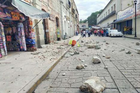 Un terremoto de magnitud 7,5 en el sur y el centro de México deja seis muertos